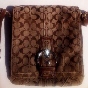 Authentic Vintage Coach Shoulder Bag